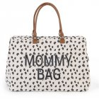 Childhome přebalovací taška Mommy Bag Big - Canvas Leopard