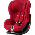 Britax Römer King II Black Edition - Fire Red 2020 AKCE