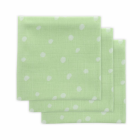 Little Lemonade pleny 3ks 70 x 70 cm - Dots Green