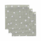 Little Lemonade pleny 3ks 70 x 70 cm - Dots Grey