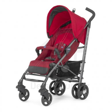 Chicco Lite Way 2 Top s hrazdičkou - Red