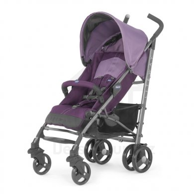 Chicco Lite Way 2 Top s hrazdičkou - Purple
