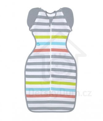 Love to Dream Swaddle UP Summer Lite 50/50 6 - 8,5 kg    - Multi Stripe