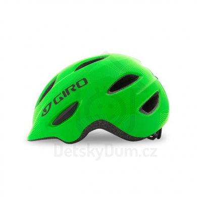 GIRO přilba Scamp - Green/lime lines XS