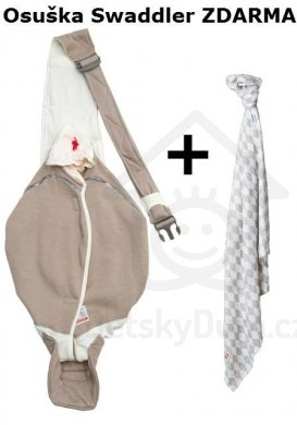Lodger nosítko Shelter 2.0 Cotton + Swaddler - Sport Powder