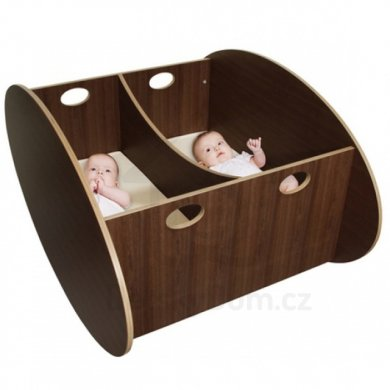 Babyhome SO-RO Twin    - Walnut