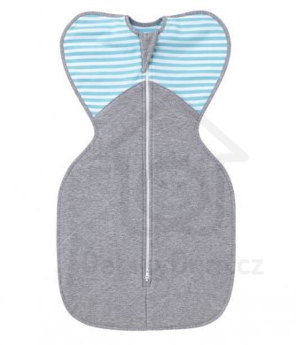 Love to Dream Swaddle UP Winter Warm 6 - 8,5 kg    - Turquoise