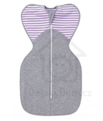 Love to Dream Swaddle UP Winter Warm 6 - 8,5 kg    - Lilac