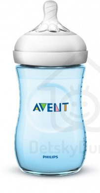 Philips AVENT láhev Natural 2.0 PP 260 ml - Modrá