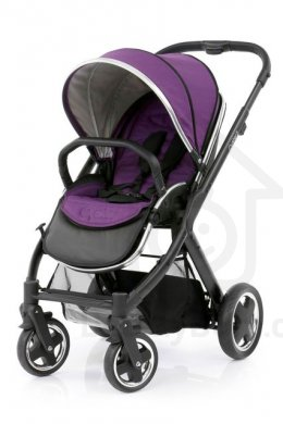 BabyStyle Oyster 2 Black - Wild Purple