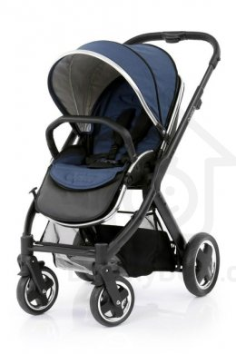 BabyStyle Oyster 2 Black - Oxford Blue