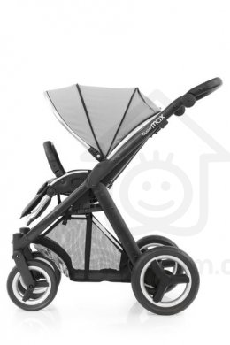BabyStyle Oyster Max/ Black - Pure Silver