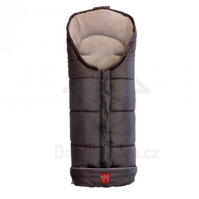 Kaiser Iglu Thermo Fleece fusak - Anthrazit/Hellgrau