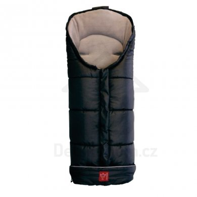 Kaiser Iglu Thermo Fleece fusak - Black/hellgrau