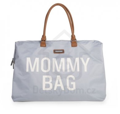 Childhome přebalovací taška Mommy Bag Big - Grey Off White