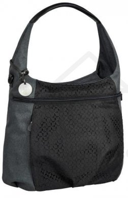 Lässig taška Casual Hobo Bag - Black