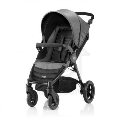 Britax Römer B-Motion 4 kočárek Denim - Black Denim 2019
