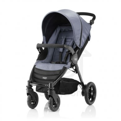 Britax Römer B-Motion 4 kočárek Denim - Blue Denim 2019
