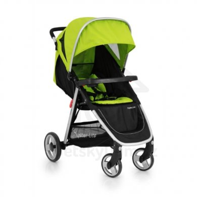 BabyStyle Oyster Lite + colour pack - Lime 2017
