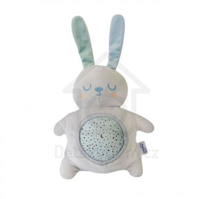 Pabobo Musical Star Projector - baterie - Rabbit