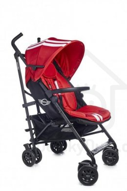 EasyWalker Mini Buggy s madlem - Blazing Red 2016
