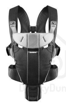BabyBjörn Baby Carrier Miracle - Black/Silver