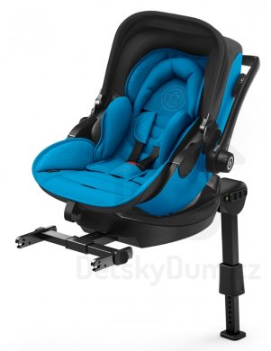 Kiddy Evoluna i-Size 2 + Isofix báze 2 - Summer Blue 2018