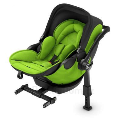 Kiddy Evoluna i-Size 2 + Isofix báze 2 - Lizard Green 2019