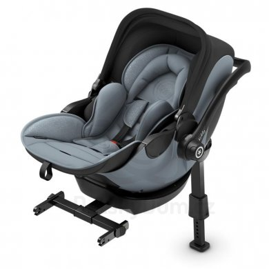 Kiddy Evoluna i-Size 2 + Isofix báze 2 - Moon Grey 2019