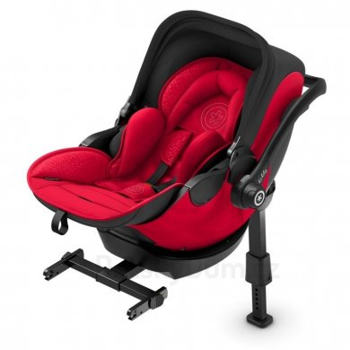 Kiddy Evoluna i-Size 2 + Isofix báze 2 - Candy Red 2019