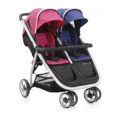 BabyStyle Oyster Twin Lite  - Navy/Hot pink
