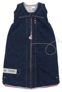 Lodger spací pytel Hopper - vel. 50-62 Tough denim -  AKCE