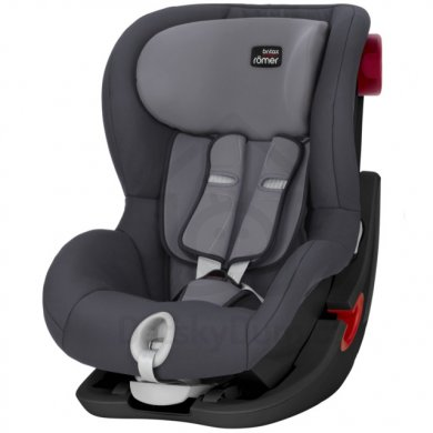 Britax Römer King II Black Edition - Storm Grey 2020 AKCE