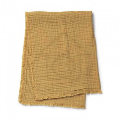 Elodie Details deka Soft Cotton Blanket  - Gold