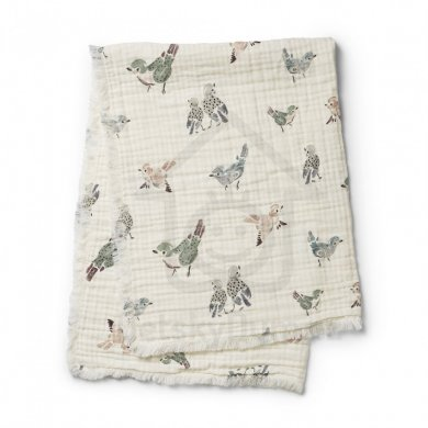 Elodie Details deka Soft Cotton Blanket  - Feathered Friend