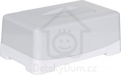 Luma Babycare box na ubrousky - Light Grey