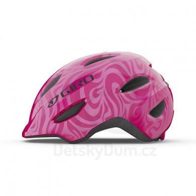 GIRO přilba Scamp - Bright Pink/Pearl XS