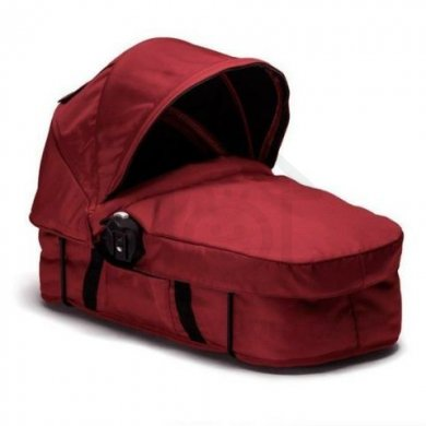 Baby Jogger City Select Bassinet Kit korbička - Garnet - černý rám
