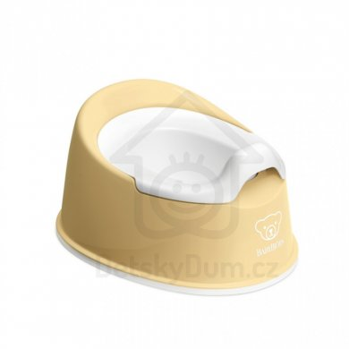 BabyBjörn nočník Smart Potty - Powder Yellow/White
