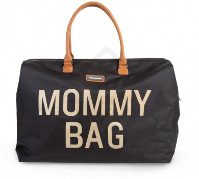Childhome přebalovací taška Mommy Bag Big - Black Gold