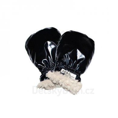 7AM Enfant rukavice Polar Mittens - Vel. XXL (5-6 roků), Black