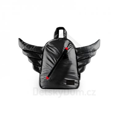 7AM Enfant batoh Mini Wings - Black