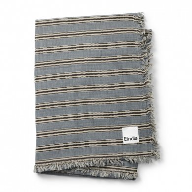 Elodie Details deka Soft Cotton Blanket  - Sandy Stripe