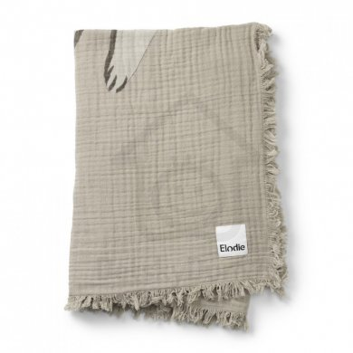 Elodie Details deka Soft Cotton Blanket  - Kindness Cat