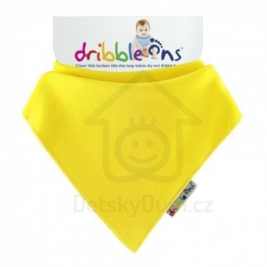 Dribble Ons  - Brights Lemon