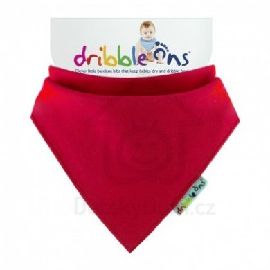 Dribble Ons  - Brights Red