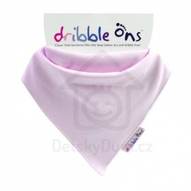 Dribble Ons  - Classic Baby Pink