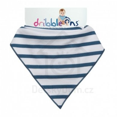Dribble Ons  - Designer Nautical Stripes