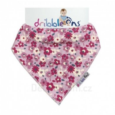 Dribble Ons  - Designer Floral Ditsy