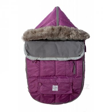 7AM Enfant fusak Le Sac Igloo - Grape
